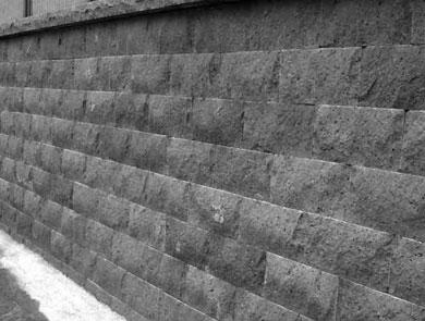 Rivestimento in pietra lavica